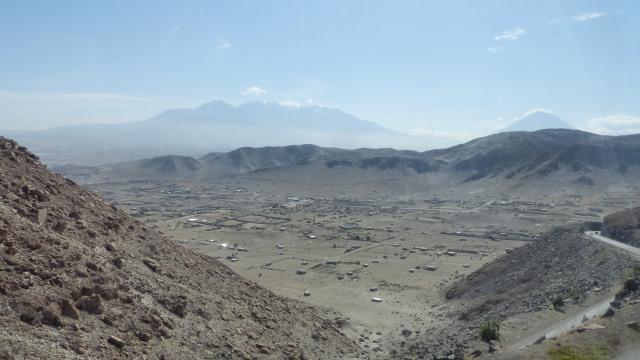 Arequipa to Arica